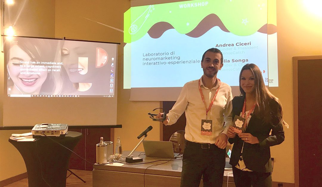 Neuromarketing: l'intervista a Andrea Ciceri e Giulia Songa di SenseCatch