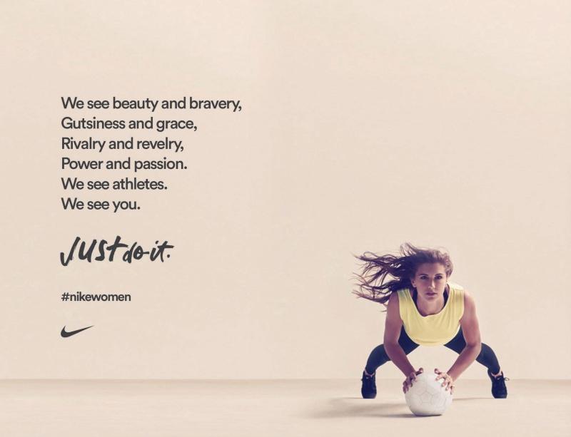 post ispirazionale Nike
